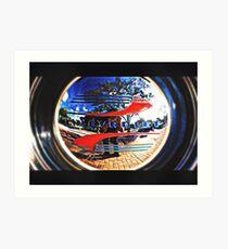 Hubcap  Art Print