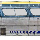 Grungy alter getrennter Bus von mrdoomits