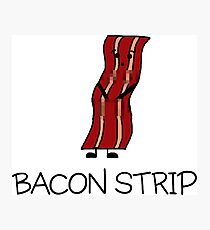 Bacon Strip Photographic Print