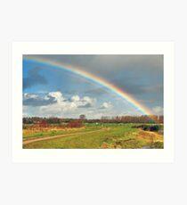 Somewhere Over the Rainbow...... Art Print
