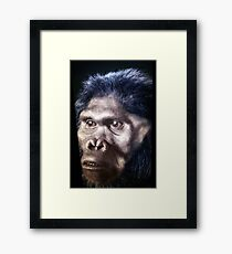 The Face: Beginning of time. Framed Print