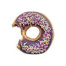 Gebissener Donut von mrdoomits