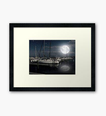 Que Bonita Luna ©  Framed Print