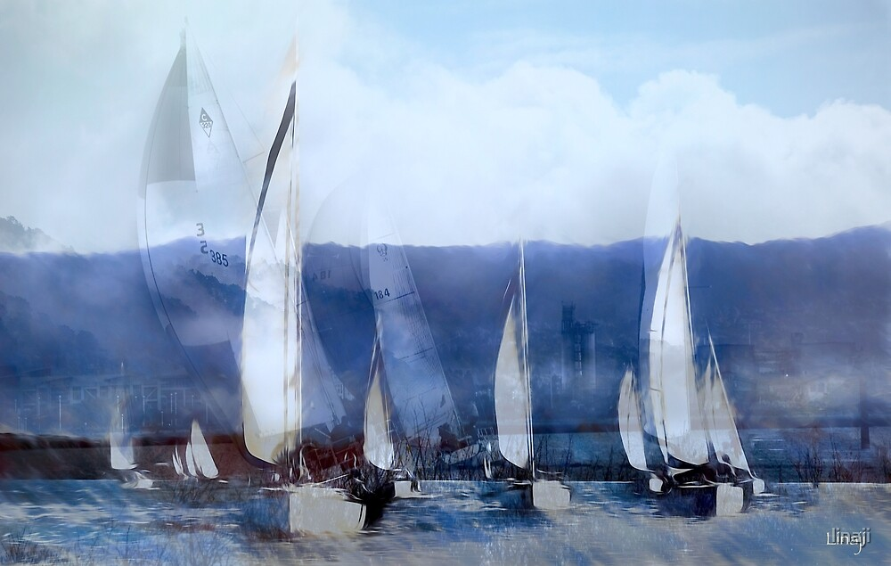 I Dream of Sailing by linaji