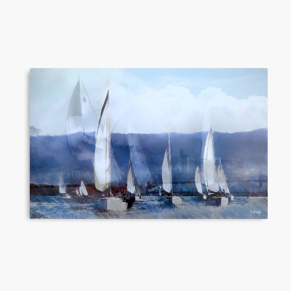 I Dream of Sailing Metal Print