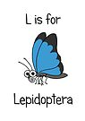 L is for Lepidoptera by Adrienne Body