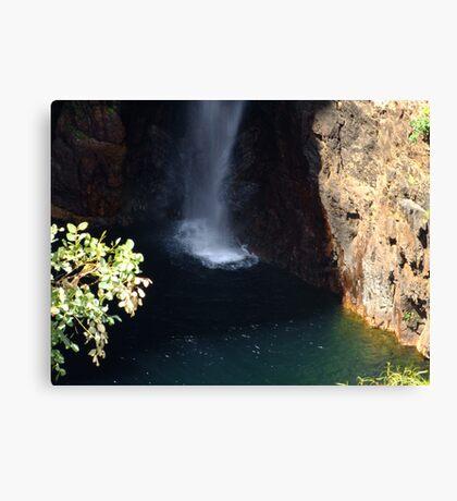 Waterfall Angel Canvas Print