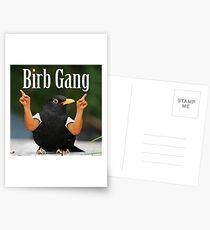 Wild Green Memes Bird Birb Gang Postcards