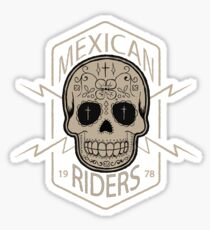 Mexican Riders Sticker