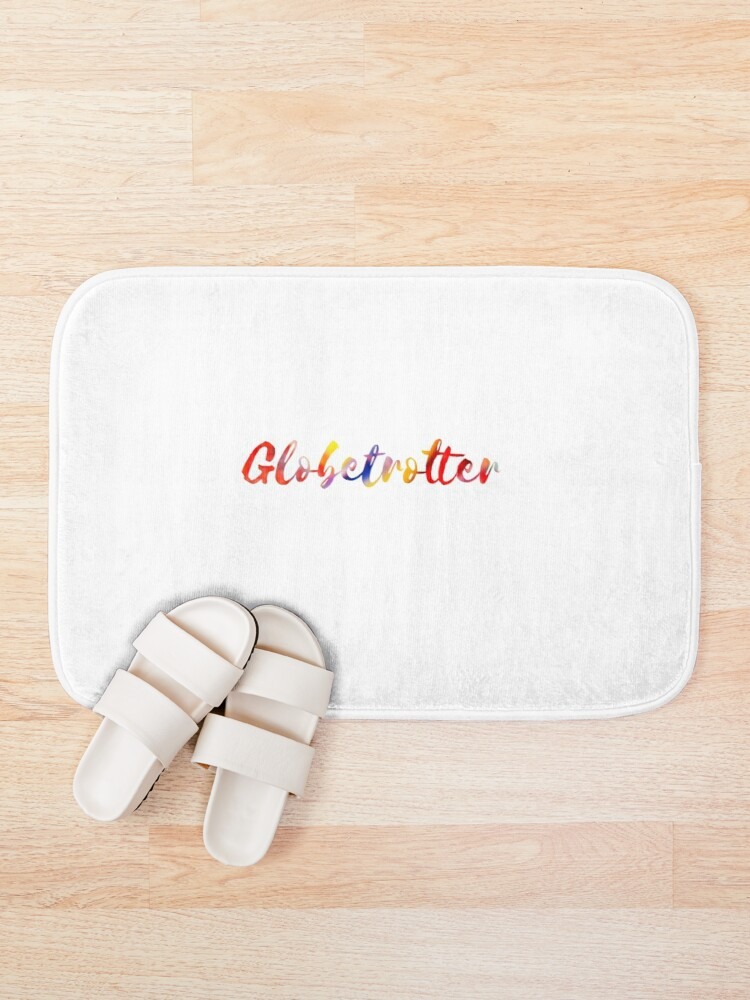 Alternate view of Globetrotter in Rainbow Bath Mat