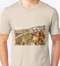 The Great Bridge, Constantine, Algeria ca.1899 Unisex T-Shirt