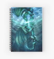 Wings of Fire - Fathom and Turtle Spiral Notebook