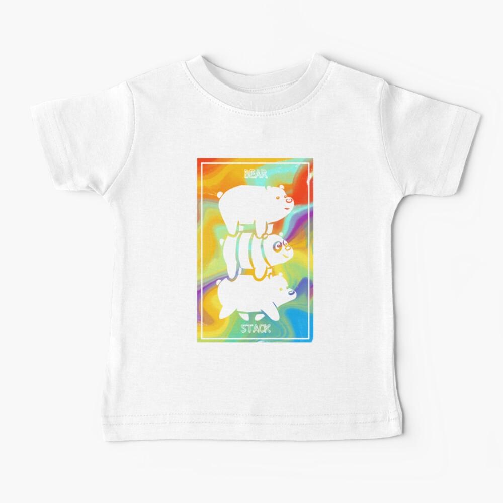 Bear Stack | We Bare Bears Baby T-Shirt