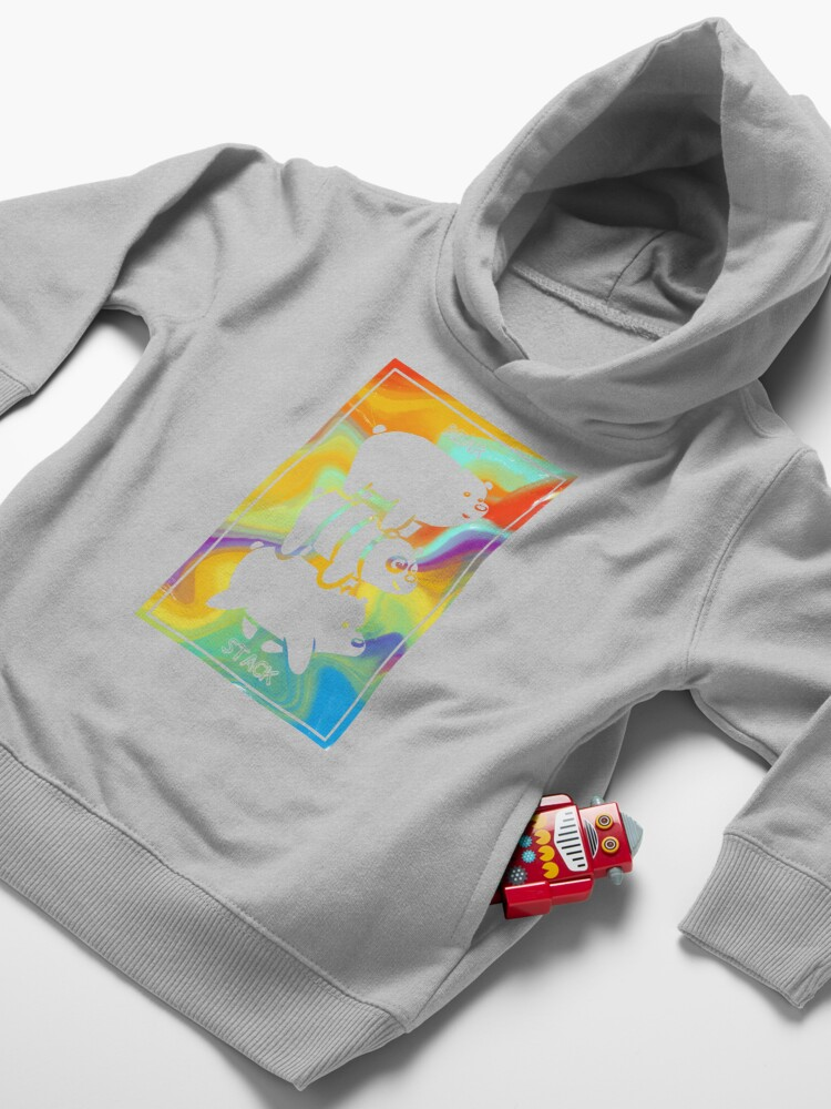 Alternate view of Bear Stack | We Bare Bears Toddler Pullover Hoodie