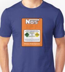 NOS Nitrous Bottle Label (Small) Unisex T-Shirt