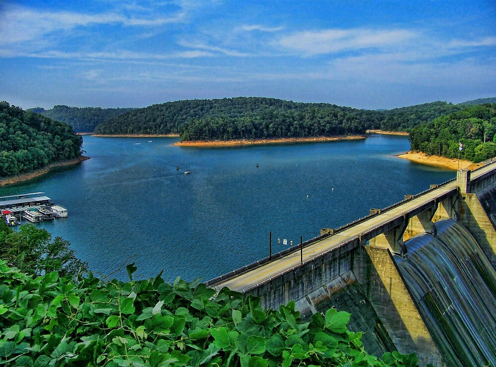 Norris Dam by lynell