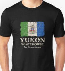 Yukon Flag - Vintage Look T-Shirt