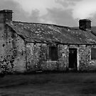 Moorland Ruin by Trevor Kersley