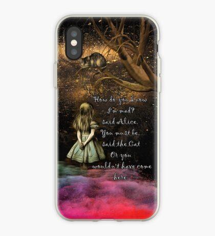 Magical Wonderland - ¿Cómo sabes que soy loco? Vinilo o funda para iPhone