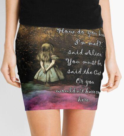 Magical Wonderland - ¿Cómo sabes que soy loco? Minifalda