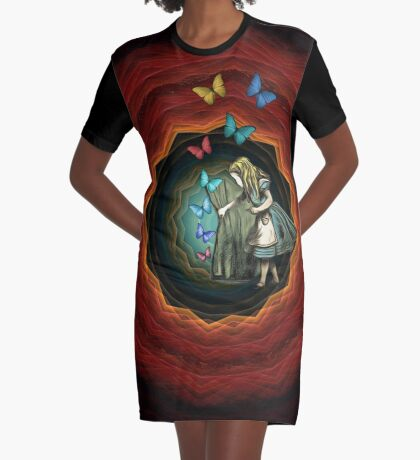 Alicia en el país de las maravillas - que comience la magia Vestido camiseta