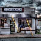 History Preserved: Shoe Repair, Sidney, BC by toby snelgrove  IPA