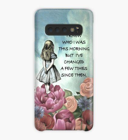 Wondering Alice - Cita de Alicia en el país de las maravillas Funda/vinilo para Samsung Galaxy