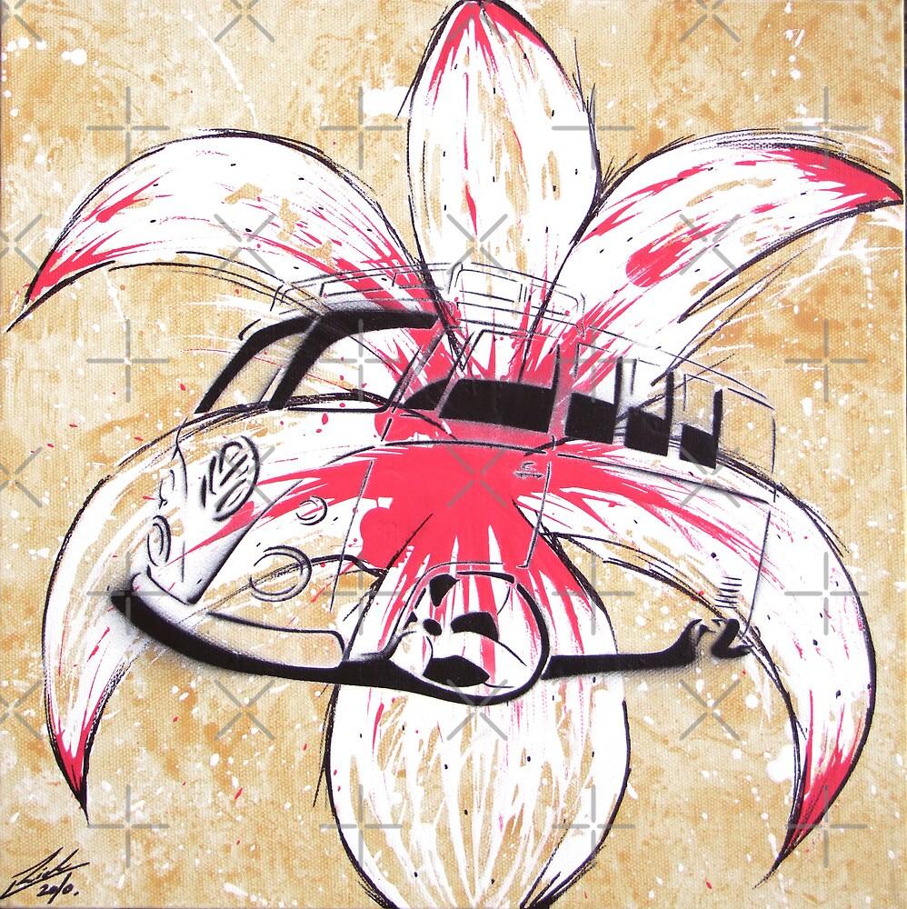 Splitty Flower by Richard Yeomans