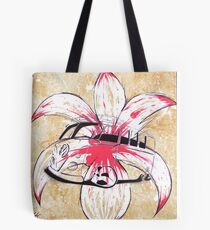 Splitty Flower Tote Bag