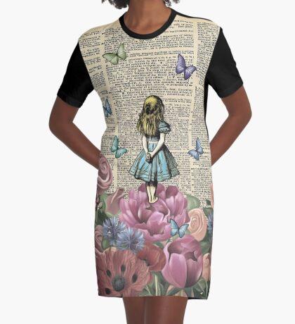 Alicia en el país de las maravillas - Wonderland Garden Vestido camiseta