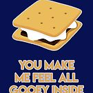 You make me feel all gooey inside by fashprints