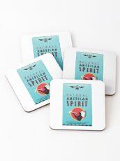 American Spirit Pack Coasters