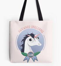 Awkward Unicorns Club Tote Bag