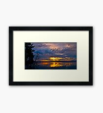 Lake Tahoe Sunrise Framed Print