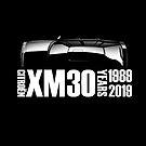 Citroen XM 30th Anniversary T-shirt by RJWautographics
