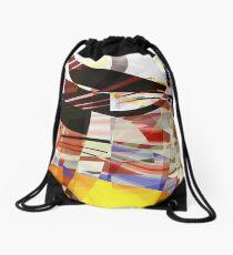 Fractured III Drawstring Bag