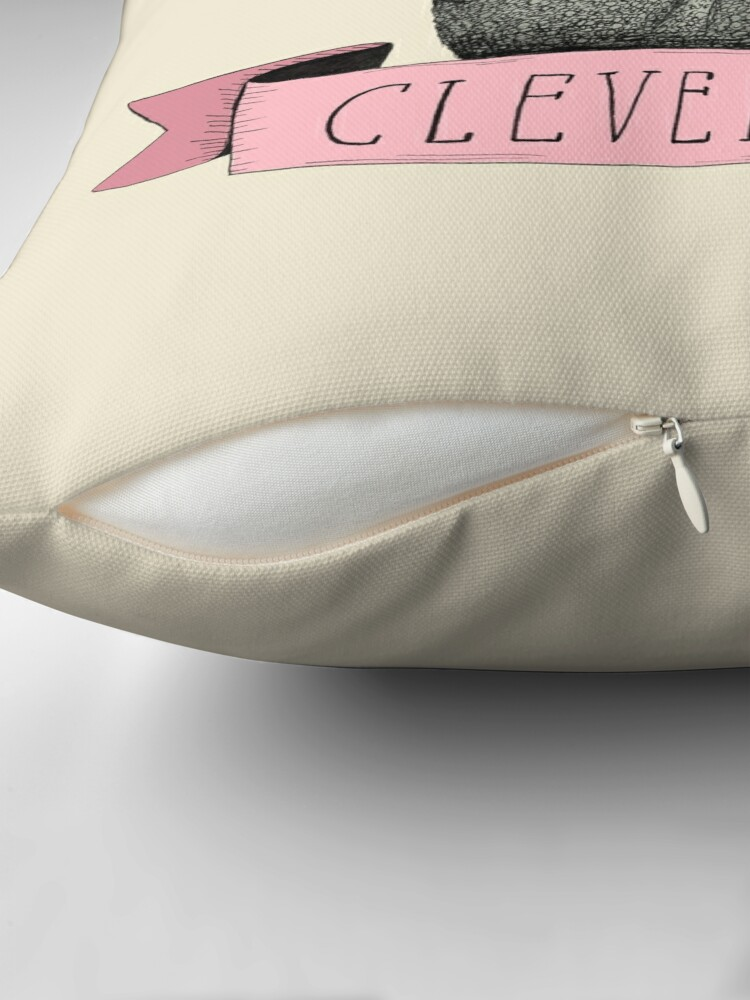 Alternate view of Clever Girl Floor Pillow