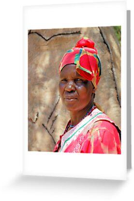 The venda woman traditional dress greeting cards by magriet the venda woman traditional dress by magriet meintjes m4hsunfo