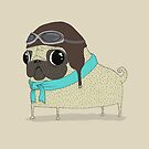 Pilot Pug by agrapedesign