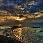 Tel Aviv hypnotizing sunset by Ronsho