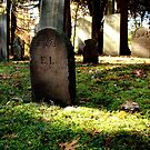 1700's Revolutionary War Graveyard by kailani carlson