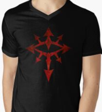 The Eye of Chaos Men's V-Neck T-Shirt