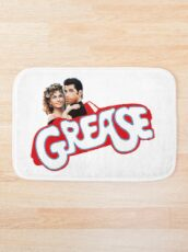 Grease is the word Bath Mat