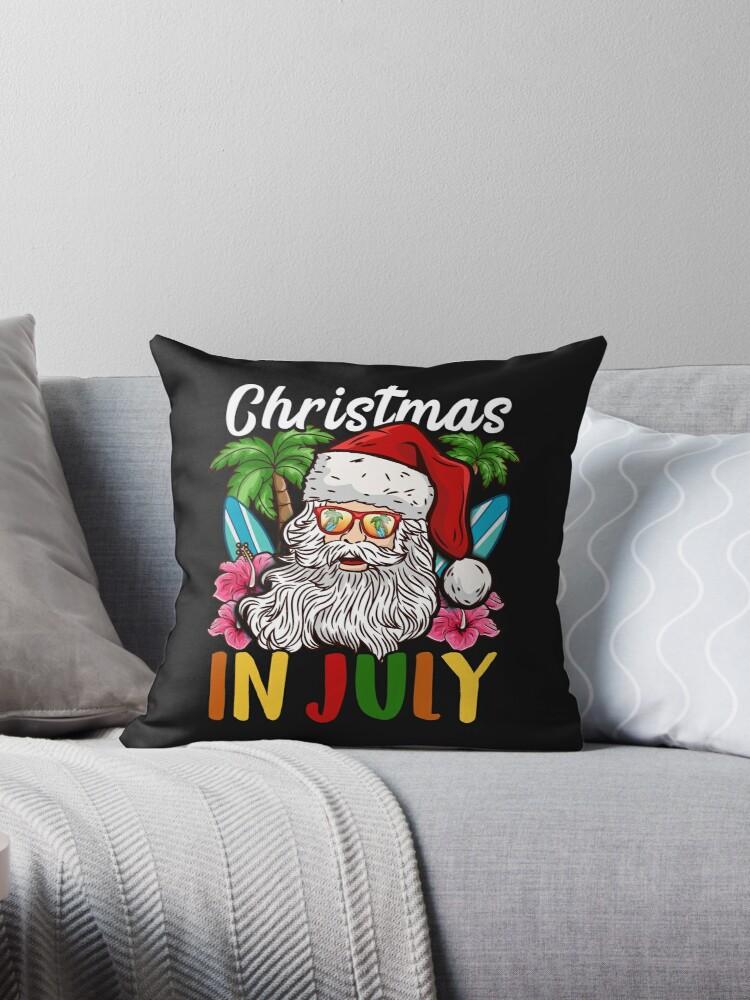 Put In Bay Christmas In July Pictures.Christmas In July I Put In Bay For A Party Dad Design Throw Pillow By Binutz