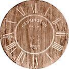 Wood Stain Vintage Clock by BigAl3D