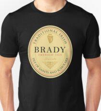 Irish Names Brady T-Shirt