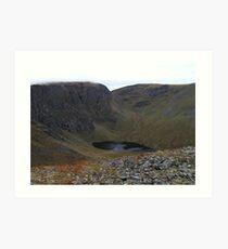 Creag Megaidh Nature Reserve Art Print