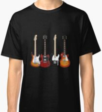 Four Electric Guitars Classic T-Shirt