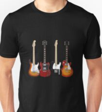 Four Electric Guitars Unisex T-Shirt