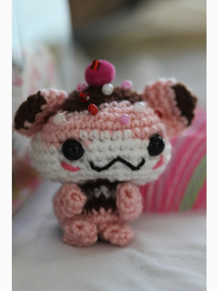 Hamster Cupcake by thepurplelilac